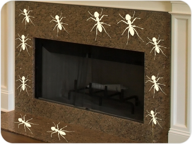 Vinilo hormigas
