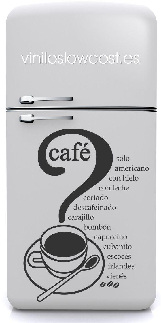 Vinilo café solo