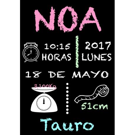 Cartel de Fiesta Bienvenidos