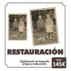 Restauración de fotos antiguas o deterioradas