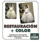 Restauración de foto más color